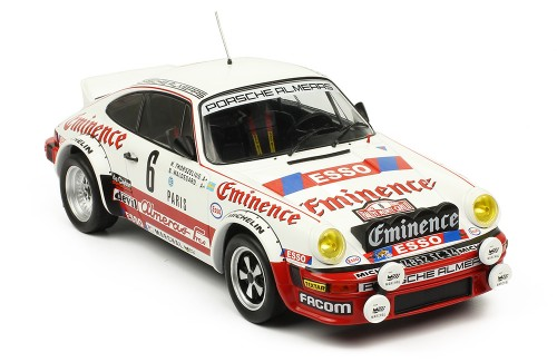 PORSCHE 911 SC #6 B. Waldegård-H. Thorszelius  Rally Monte Carlo 1982