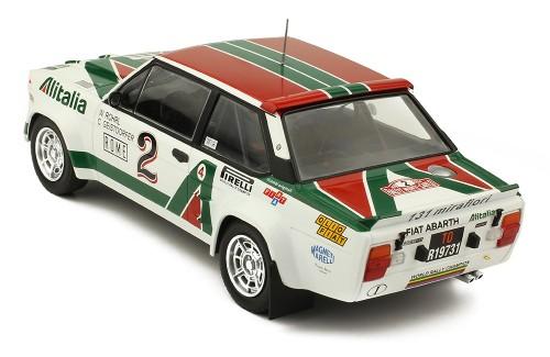 FIAT 131 Abarth #2 W. Röhrl-C. Geistdörfer Rally Monte Carlo 1978