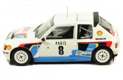 PEUGEOT 205 T16 #8 B. Saby-J. Fauchille Rallye Monte Carlo 1985