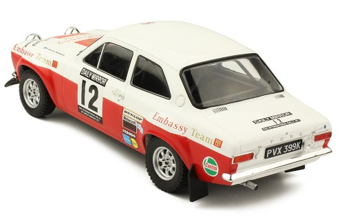 FORD Escort MK1 RS 1600 #12 H. Mikkola - G. Palm RAC Rally 1971