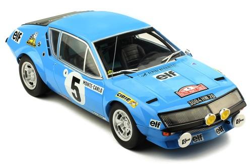 RENAULT Alpine A310 #5 J.A-L. Thérier-M. Vial  Rallye Monte-Carlo 1975