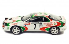 TOYOTA Celica Turbo 4WD (ST185) #7 J. Kankkunen-J. Piironen Rallye Monte-Carlo 1993