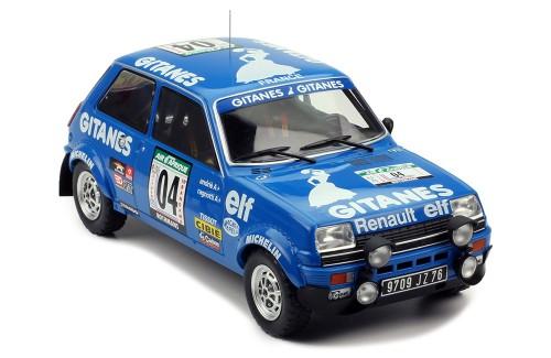 RENAULT 5 Apline #4 J. Ragnotti-J-M. Andrie Rally Bandama 1978