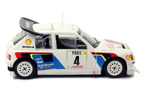 PEUGEOT 205 T16 E2 #4 J. Kankkunen-J. Piiironen Rally Monte-Carlo 1986