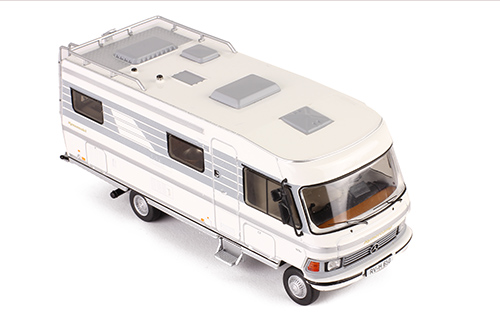 HYMERMOBIL Type 650 1985 White and Gray