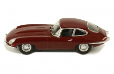 JAGUAR E-TYPE 1963 - DARK RED