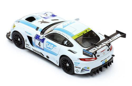 MERCEDES AMG GT3 #4 - A.Christodoupoulou-M. Engel-M. Metzger-B. Schneider-Winner 24h Nurburgring - 2016