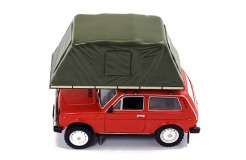 "LADA NIVA ""WITH ROOF TENT"" 1981 RED"