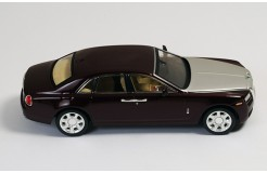 ROLLS-ROYCE GHOST 2009 Metallic Bordeaux and Silver