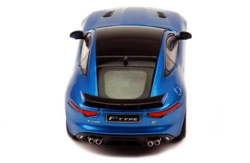 JAGUAR F-Type SVR 2016 Blue and Black top