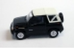 SUZUKI Sidekick Convertible Black with Soft White Top