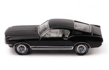 FORD MUSTANG GT FASTBACK 1967 Black/White