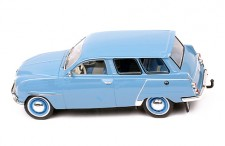 SAAB 95 1961 Grey Blue