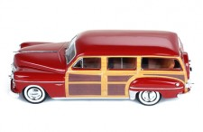 DODGE CORONET Woody Wagon 1949 Bordeaux