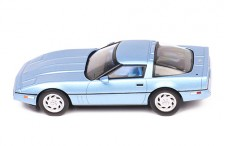 CHEVROLET CORVETTE C4 1984 LIGHT METALLIC BLUE