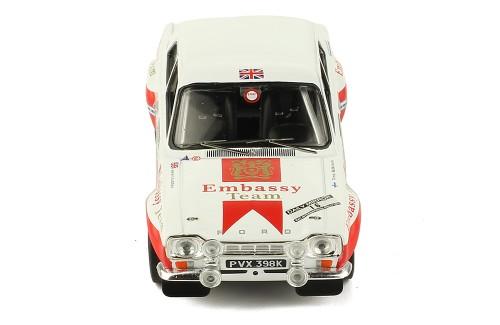 FORD ESCORT MKI RS 1600 #16 T. Mkinen-H.Liddon RAC Rally 1971