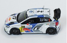 VW POLO R WRC #2 J-M.Latvala-M.Anttila Winner Rallye de France 2014