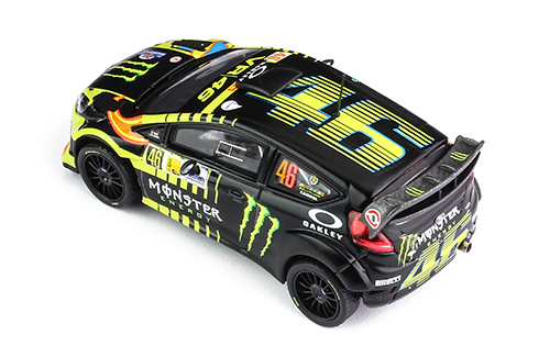 FORD FIESTA RS WRC #46 V. Rossi - C.Cassina - Monza Rally - 2013