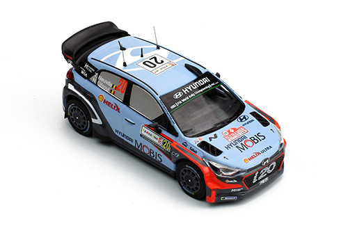 HYUNDAI i20 WRC #20 Winner Rally Sadegna 2016
