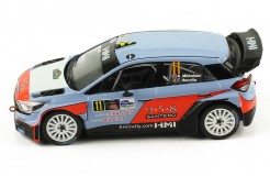 HYUNDAI NG i20 WRC #11 - A. Mikkelsen-T. Neville - 2nd Monza Rally 2017