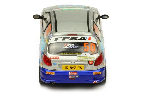 PEUGEOT 206 XS #50 S. Ogier-J. Ingrassia - Rallye Terre des Cardabelles 2006