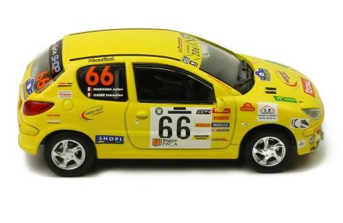PEUGEOT 206 XS #66 S. Ogier-J. Ingrassia - Rallye Terre de Provence 2006