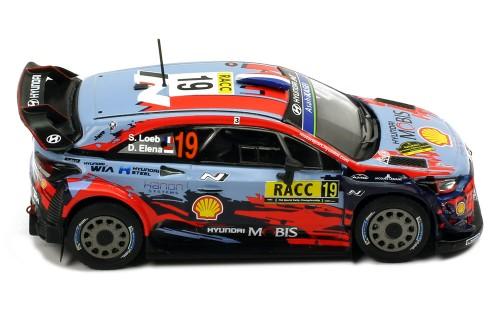 HYUNDAI i20 Coupe WRC #19 S. Loeb-D. Elena Rally Catalunya 2019