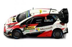 TOYOTA Yaris WRC #8 Rally O. Tänak - M. Järveoja Rally Catalunya 2019