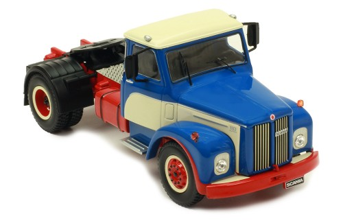 SCANIA 110 Super 1953 Blue-Beige-Red