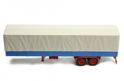 TRUCK Trailer with Canvas cover - Grey/Blue