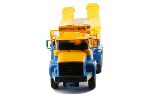 BERLIET TB 015 M3 6x4 1960 - Blue and Yellow