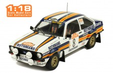 FORD Escort MKII RS 1800 #8 H. Mikkola-A. Hertz Rally San Remo 1980