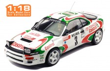 TOYOTA Celica Turbo 4WD (ST185) #3 D. Auriol-B. Occelli Winner Rallye Monte-Carlo 1993