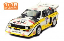 AUDI Sport Quattro S1 #2 H. Mikkola-A. Hertz RAC Rally 1985