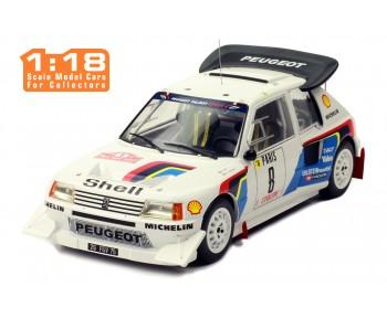 PEUGEOT 205 t16 E2 #8 B. Saby-J. Fauchille Rally Monte-Carlo 1986
