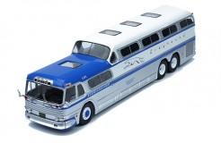 GREYHOUND SCENICRUISER  1956 Blue/Silver/white