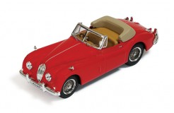 Jaguar XK 140 Convertible 1956 Red (with Beige interiors)