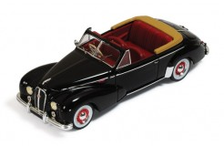 Hotchkiss Antheor Cabriolet 1953 Black (with Red interior)