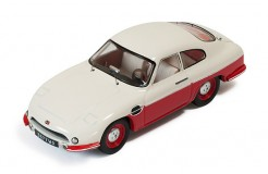 DB PANHARD HBR5 (closed lights)  Beige and Red - 1957
