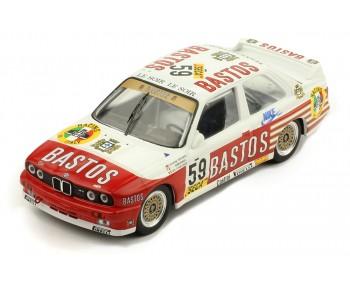 BMW E30 M3 #59 D. Vermeersch-G. Fontanesi - M. Micangeli 24H Spa 1987