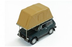 Lada Niva with Roof Tent - Green - 1981