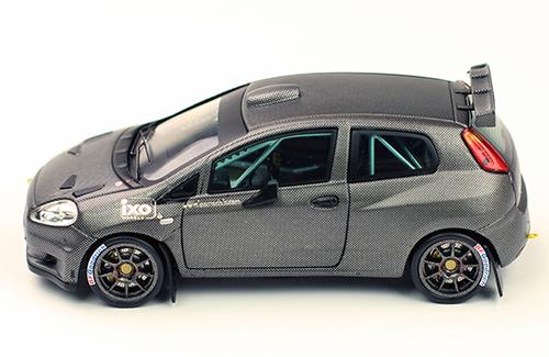 FIAT Punto S2000 -  IXO in the Rally Condroz