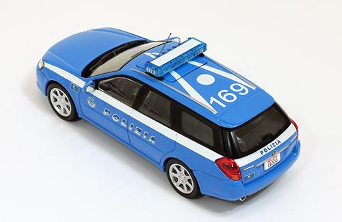 SUBARU Legacy Wagon - Italy Police Car - 2003