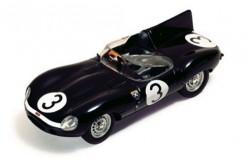 Jaguar D I. Bueb-R. Flockhart #3 Winner Le Mans 1957