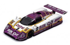 "JAGUAR XJR9 ""SILK CUT"" LAMMERS-DUMFRIES-WALLACE #2 WINNER LE MANS 1988"