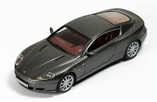 ASTON MARTIN DB9 Silver with Bordeaux interiors 2005