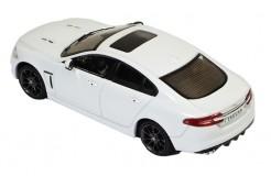 JAGUAR XFR 2010 White (dark Grey wheels) / Black and Aluminium interior