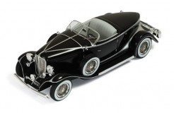 AUBURN BOAT TAIL Roadster 1933 Black and Silver