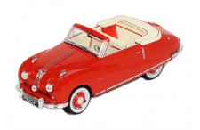 Austin A90 Atlantic Cabrio - Red - 1949