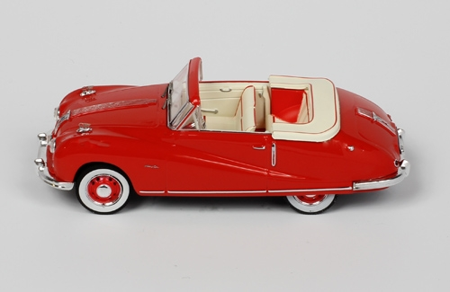 Austin A90 Atlantic Cabrio - Red - 1949
